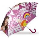 Großhandel Regenschirme:Kinderhalbautomatisc he Regenschirm Disney Soy Luna
