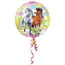 mayorista Regalos y papeleria: Jinete, los  caballos globo de la hoja 43 cm