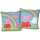 Peppa pig cushion, decorative pillow 40 * 40 cm