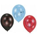 Miraculous Ladybug balloon, balloon with 6 pcs