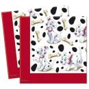 Großhandel Tischwäsche: Disney Dalmatians Serviette 20 PC