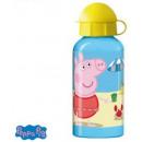 Aluminum water bottle Peppa Pig 400ml