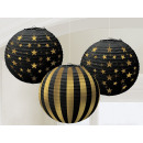 wholesale Gifts & Stationery: Lampion Hollywood 3-Piece Set