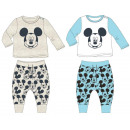 Ensemble bébé T-shirt + pantalon Disney Mickey