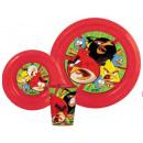 Vaisselle, ensembles en plastique de Angry Birds