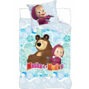 Masha and the Bear Bedding Lining 140 × 200cm