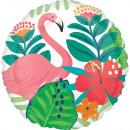 Flamingo, Flamingo-folie Ballonnen 43 cm