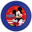Disney Mickey plat, plastique 3D