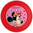 Disney Minnie plat, plastique 3D