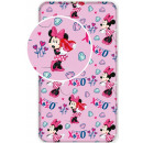 Gumis Lepedő Disney Minnie 90*200 cm