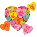 Heart, Heart Foil Balloons 68 cm