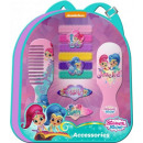 Shimmer and Shine hair accessory kit