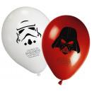 Star Wars ballonnen, ballonnen 8 stuks
