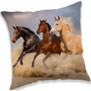 wholesale Cushions & Blankets: Horse, The Horses cushion, cushion 40 * 40 cm