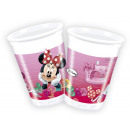 wholesale Party Items: DisneyMinnie Sweet Plastic cup 8 pcs 200 ml