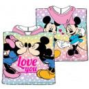Disney Minnie beach towel poncho 50 * 100cm