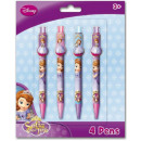 Pen Set 4 Disney Sofia , Sofia