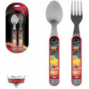 Cutlery Kit - 2 Piece Disney Cars , Verdák