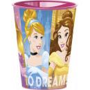 Disney Princess , Princess glasses, plastic 260 ml