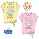Peppa pig kid short t-shirt, top 3-6 years