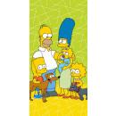 Simpson Familien Badetuch, Strandtuch