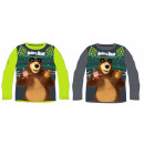 Masha and the bear kid long-sleeved t-shirt 98-128