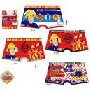ingrosso Prodotti con Licenza (Licensing): Sam the pompiere bambini boxer 2 pezzi / pacco