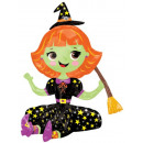 Witch, Witch Foil Balloons 53 cm