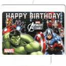 Avengers , Scammers cake candle