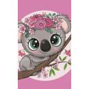 Koala Hand Towel face towel, towel 30 * 50cm