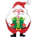 Santa Claus, Santa Foil Balloons