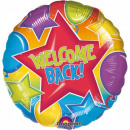mayorista Regalos y papeleria: Bienvenida de nuevo Foil globos 43 cm.