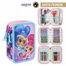 Shimmer and Shine pen holder filled with 3 decks