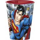 Superman glass, plastic 260 ml