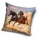 Poduszka jeździecka, poduszka dekoracyjna 40 * 40