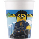 LEGO City Paper cup 8 pcs 200 ml