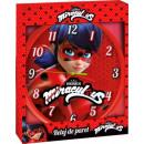 groothandel Klokken & wekkers: Miraculeuze  Ladybug Wall Clock 25cm