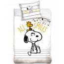 Snoopy pościel 140 × 200 cm, 70 × 90 cm