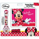 Digitaal horloge + portemonnee Disney Minnie
