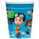 Rusty Rivets paper cup with 8 pcs 250 ml