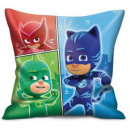 PJ Masks, Pisish heroes pillow, cushion 40 * 40 cm