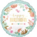 nagyker Ajándékok és papíráruk: Happy Birthday Fólia lufi 43 cm