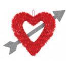 mayorista Casa y decoración: Corazón y flecha, decoración de corazón