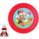 Disney Minnie flat plate, plastic 3D