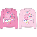 wholesale Licensed Products: Peppa pig Kids long t-shirt, top 92-122 cm