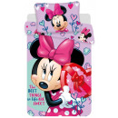 Bettwäsche Disney Minnie 140 × 200 cm, 70 × 90 cm
