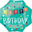 Happy Birthday Foil balloons 55 cm