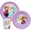 Tableware, plastic sets of Disney Frozen, Frozen