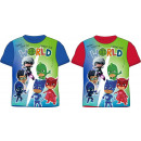 Kids T-shirt, Top PJ Masks, Pisces Heroes 92-128 c