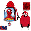 Spiderman Backpack with hood 32 cm